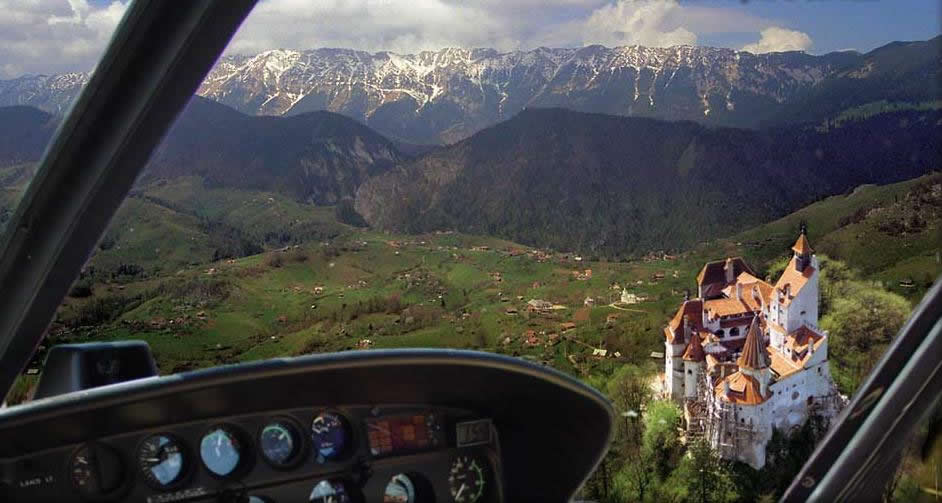 Dracula tour from Brasov - Airplane flight over Bran Castle